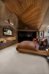 27 Super Cozy And Comfy Bedrooms With A Fireplace - DigsDigs