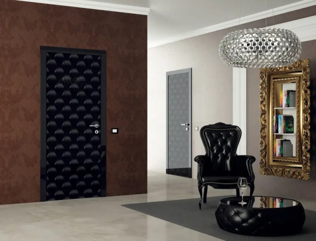 Super Modern Interior Doors With Cool Graphic and Colors ...