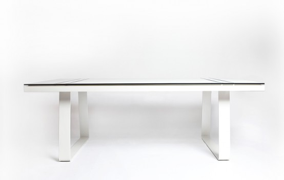 ultra modern outdoor dining furniture