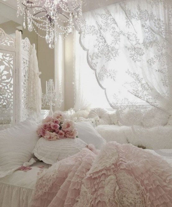 33 Sweet Shabby Chic Bedroom D 233 Cor Ideas Digsdigs