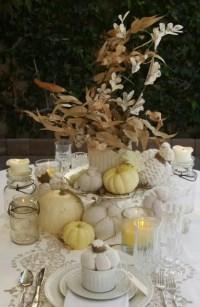 35 Tender White Thanksgiving Dcor Ideas - DigsDigs