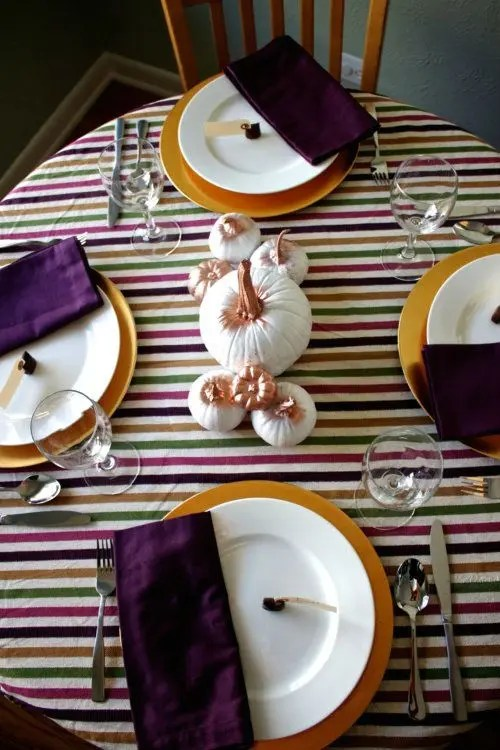 25 Thanksgiving D 233 Cor Ideas In Dramatic Purple Digsdigs