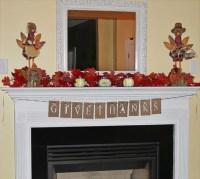 40 Thanksgiving Mantelpiece Dcor Ideas | DigsDigs