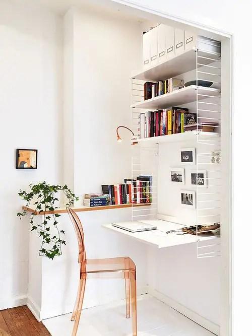 Visualizza altre idee su ufficio in casa, arredamento,. 33 Tiny Yet Functional Home Office Designs Digsdigs