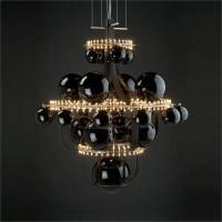 Unique Chandelier Reminding Of The Solar System | DigsDigs