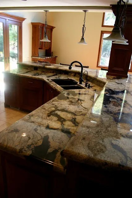 45 Unique Kitchen Countertops Of Different Materials