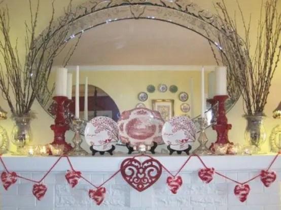 65 Valentines Day Mantel Dcor Ideas DigsDigs