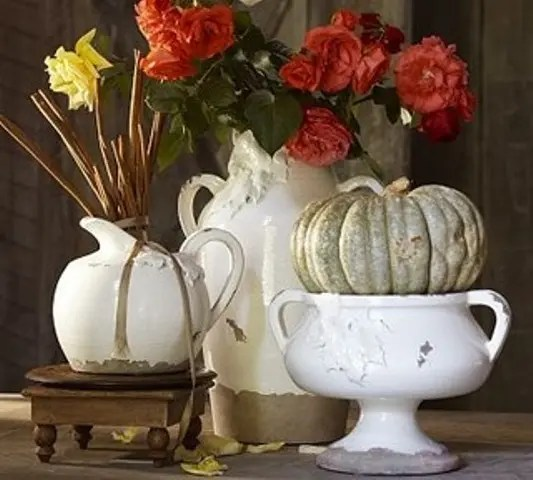 vintage thanksgiving decorations 24 Vintage And Shabby Chic Thanksgiving Décor Ideas - DigsDigs