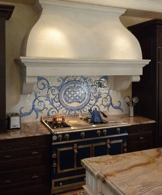 Vintage Inspired Delft Tiles Collection In Blue And White