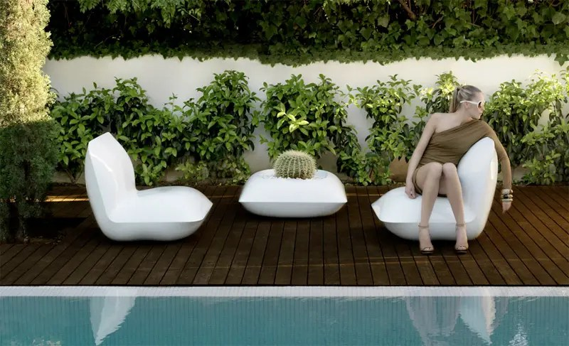 Outdoor Furniture That Reminds Cushions  Pillow by Vondom  DigsDigs