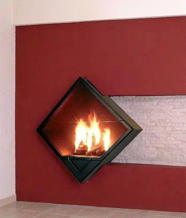 Wall Fireplace Peynote
