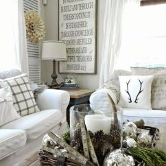 Ideas For Decorating Your Living Room Christmas Without Fireplace 28 Cool Ways To Cozy Up Winter | Digsdigs