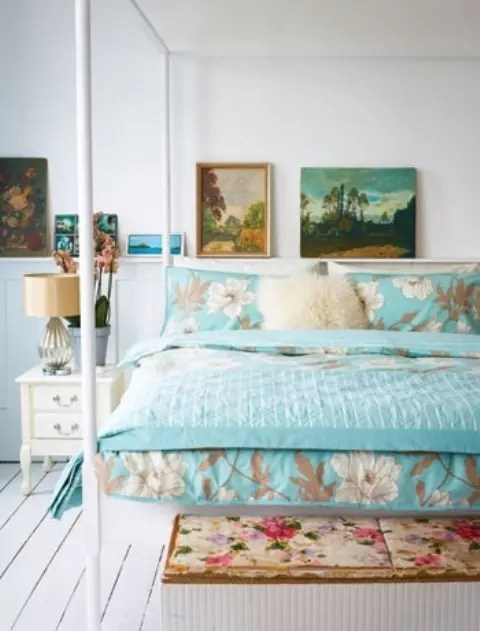 44 Wonderful SpringInspired Bedroom Decorating Ideas