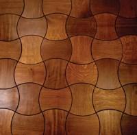 Wooden Floor Tiles  Parquet And Tiles In One | DigsDigs