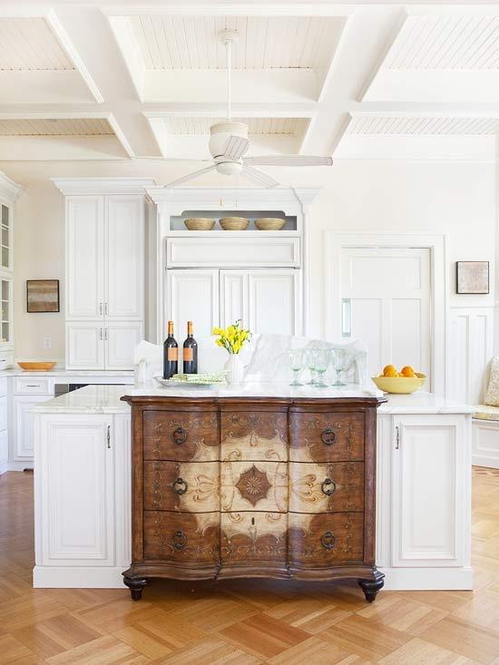 prefab kitchen island round rooster rugs 28 vintage wooden designs - digsdigs