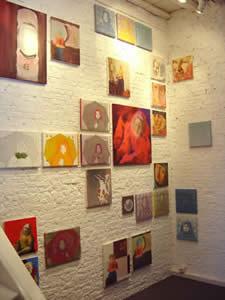 Paintings by Astrid Moors and Marja van Putten