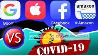 Facebook & Google Cs perang terhadap virus korona