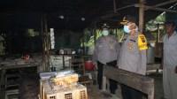 Kapolres Sergai Tinjau Dapur Umum Polsek Perbaungan