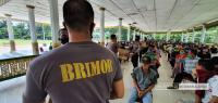 Bharata Sena AKABRI Angkatan 96 Bagikan 2.000 Paket Sembako di Medan