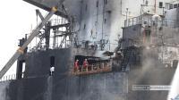 Korban Tewas Kebakaran Kapal Tanker MT JAG Leela Bertambah Jadi Lima Orang