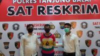 Polres Tanjung Balai Ringkus Pelaku Curanmor