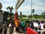 Puluhan Massa Demo Kantor DPRD Asahan