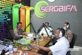 Sambut Hari Bhayangkara Ke 74, Kapolres Serdang Bedagai Talk Show Di Radio Sergai FM