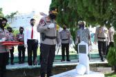 HUT ke 74 Bhayangkara, Kapolda Sumut Ziarah ke Taman Makam Pahlawan