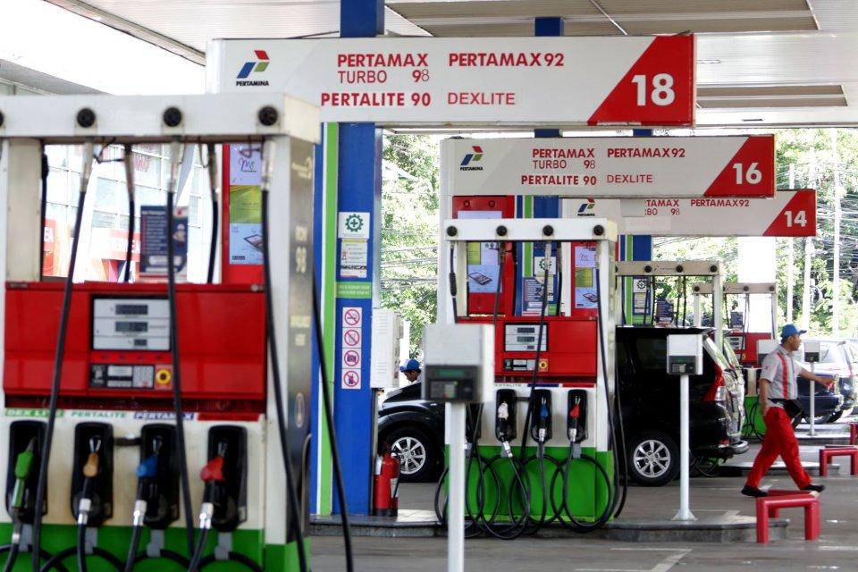 Harga BBM Pertalite Turun Jadi Rp 6.450 di Lokasi Ini