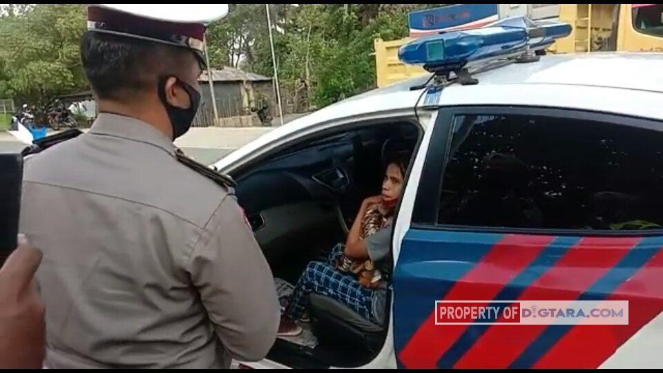 Kisah Polisi di Sabu Raijua Mengantar Ibu dan Anak yang Ditilang ke Rumah Sakit