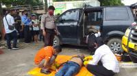 Karyawan BUMN Ditemukan Tewas Dalam Mobil Terdampar di Jalinsum