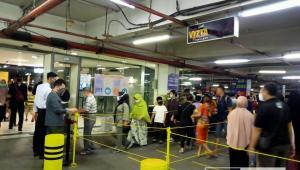 Protokol Kesehatan Ada, Kesadaran Pengunjung Medan Fair Plaza Minim