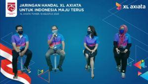 Dukung Indonesia Maju Terus, XL Axiata Komit Gunakan Jaringan Data Andal