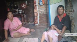 Masih Ada Keluarga di Medan yang Hidup Tanpa WC Selama 20 Tahun