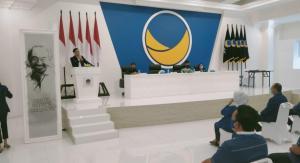 Minus Medan, Nasdem Bagikan 20 SK Calon Kepala Daerah di Sumut