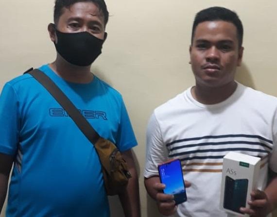 Curi Ponsel, Pemuda Ini Diciduk Polisi