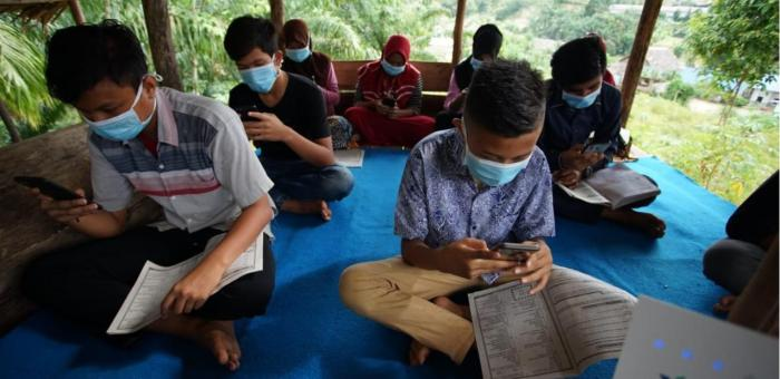 Dukung Pelajar Ikuti PJJ, XL Axiata Dukung Akses Internet di Pedesaan