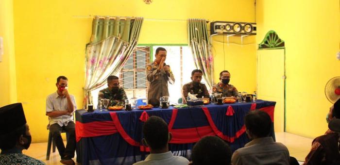 Kapolres Sergai Kunjungi Kecamatan Tanjung Beringin
