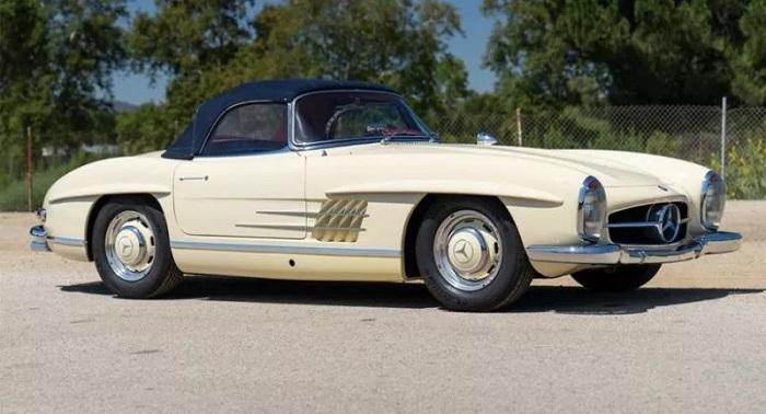 Mercy Klasik Tahun 1961 Dijual Senilai Lebih Dari Rp13,4 Miliar