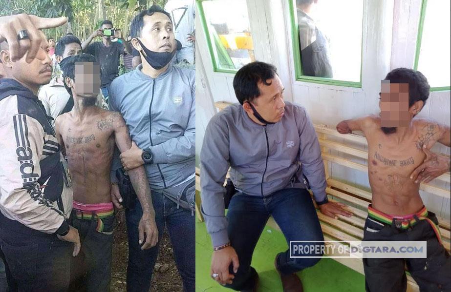 Ayah Pembunuh Anak Kandung Dibekuk Setelah Pohon Kelapa Ditebang