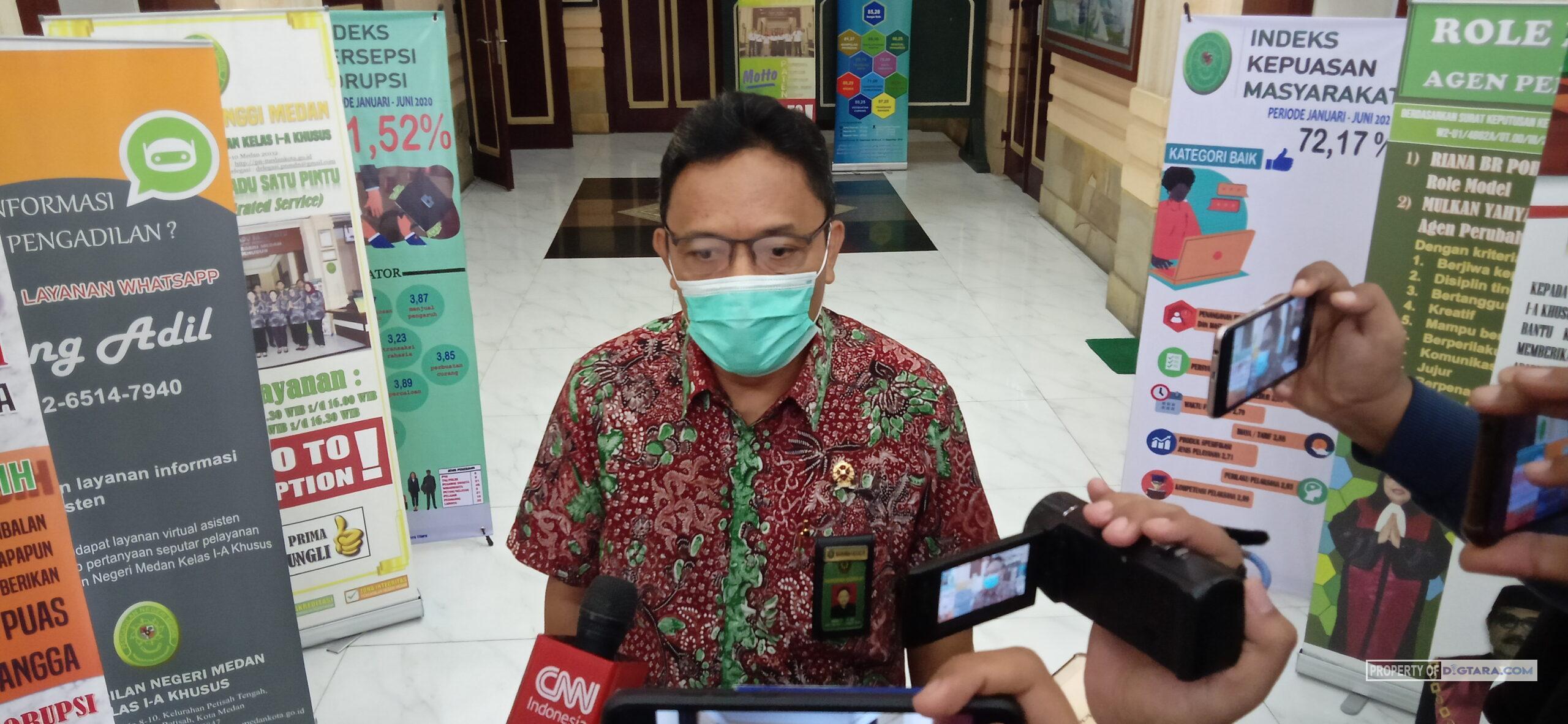 WFH Selesai, Senin Depan Aktivitas di PN Medan Kembali Normal