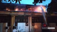 Laboratorium Mesin Fakultas Teknik Unimed Terbakar