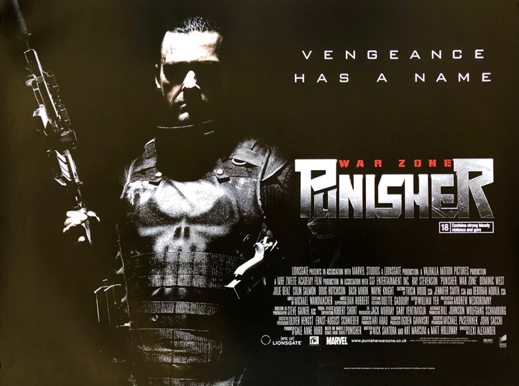 Sinopsis Film Punisher: War Zone, Mantan Militer yang Suka Main Hakim Sendiri