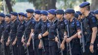 Bantu Amankan Demo Buruh, 1 Kompi Brimob Polda Sumut Diberangkatkan ke Jakarta