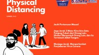 Infografis: Physical Distancing