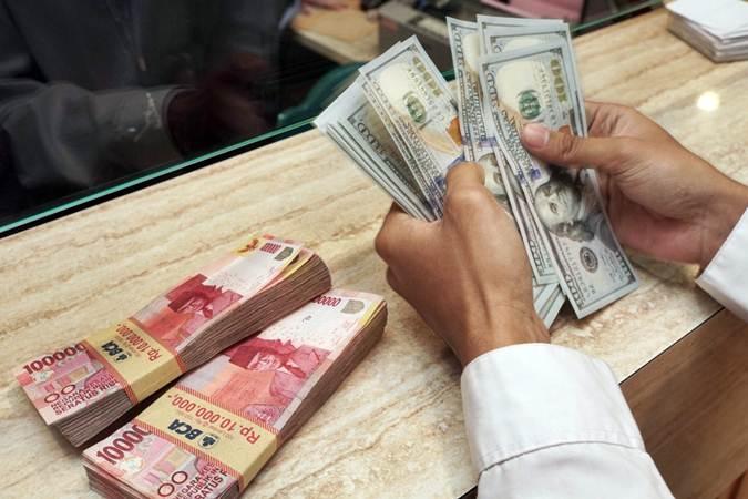 Sebelum Tukar Valas, Cek Kurs Rupiah-Dollar AS Hari Ini, Jumat 23 Oktober 2020 Rupiah Ditutup Melemah