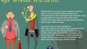 Infografis: Cara Membersihkan Tas Kerja Agar Terhindar dari Virus Korona