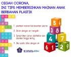 Infografis: Cegah Korona, Ini Tips Membersihkan Mainan Anak Berbahan Plastik