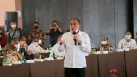 Rakor TPID se Sumut, Gubernur Sumut Ingatkan Antisipasi Inflasi Akibat Fenomena La Nina