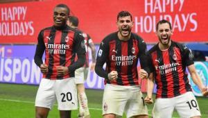 Milan Juara paruh Musim